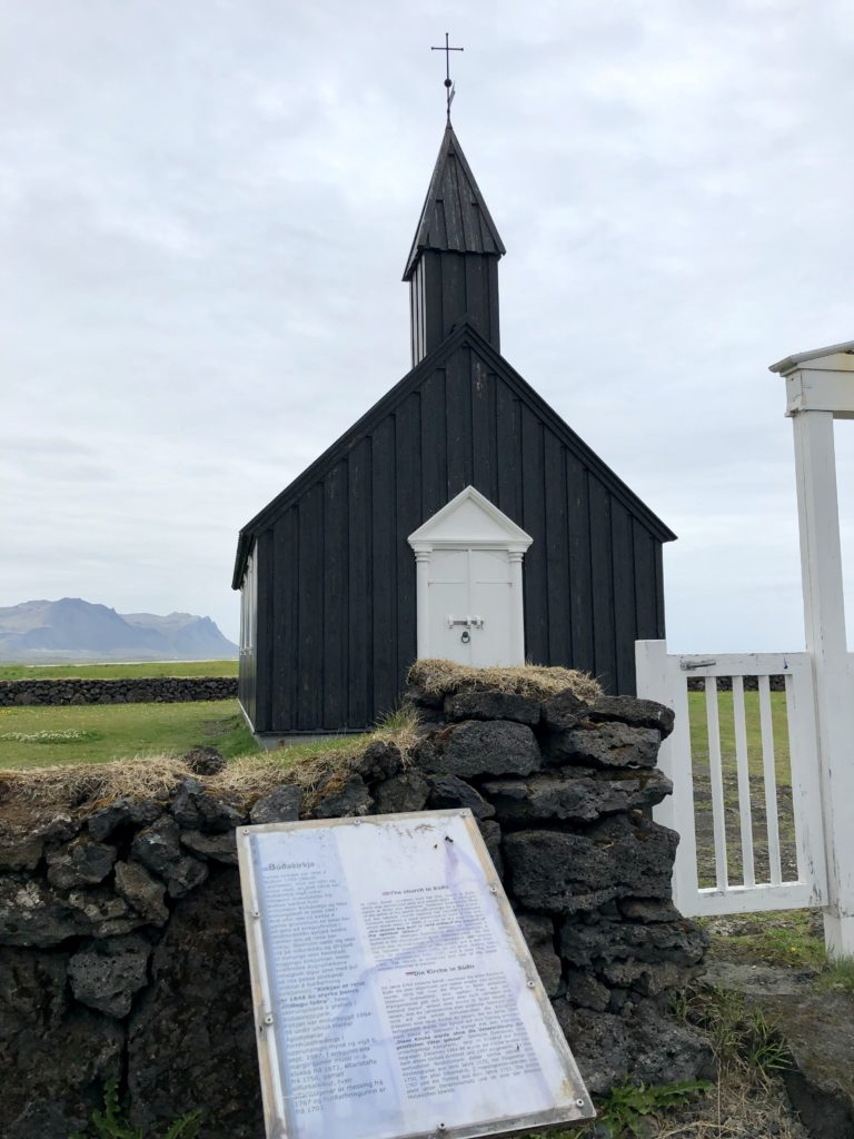 Iceland - The Black Church 1
